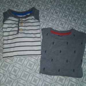 Boys long sleeves shirts